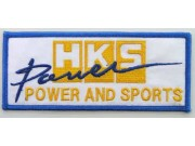 HKS POWER RACING SPORT EMBROIDERED PATCH #05
