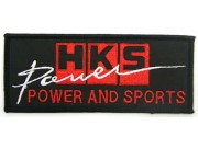 HKS POWER RACING SPORT EMBROIDERED PATCH #11