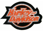 HARLEY DAVIDSON BIKER EMBROIDERED PATCH #08
