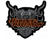 HARLEY DAVIDSON BIKER EMBROIDERED PATCH #48-C