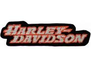 HARLEY DAVIDSON BIKER EMBROIDERED PATCH #50a