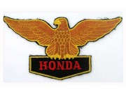 HONDA BIKER MOTORCYCLE EMBROIDERED PATCH #01