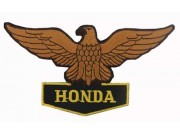 HONDA BIKER MOTORCYCLE EMBROIDERED PATCH #02