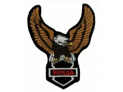 HONDA BIKER EAGLE MOTORCYCLE EMBROIDERED PATCH #03