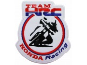 HONDA HRC BIKER RACING EMBROIDERED PATCH #09