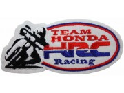 HONDA HRC BIKER RACING EMBROIDERED PATCH #10
