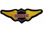 HONDA MOTORCYCLE BIKER WINGS PATCH #13