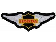 HONDA MOTORCYCLE BIKER WINGS PATCH #15