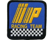 IP RACING SPORT IRON ON EMBROIDERED PATCH #01
