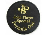 JPS JOHN PLAYER SPCIAL RACING SPORT EMBROIDERED PATCH #01