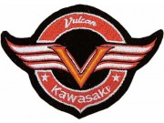 KAWASAKI BIKER MOTORCYCLE EMBROIDERED PATCH #01