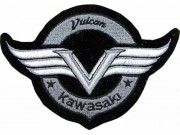 KAWASAKI BIKER MOTORCYCLE EMBROIDERED PATCH #02