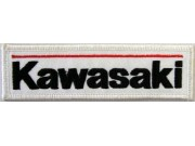 KAWASAKI BIKER MOTORCYCLE EMBROIDERED PATCH #15