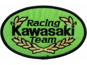 KAWASAKI BIKER MOTORCYCLE EMBROIDERED PATCH #21