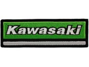 KAWASAKI BIKER IRON ON EMBROIDERED PATCH #34