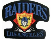 Los Angeles Raiders NFL Embroidered Patch #09b