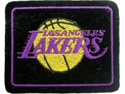 LOS ANGELES LAKERS NBA BASKETBALL EMBROIDERED PATCH #01