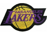 NBA LOS ANGELES LAKERS BASKETBALL EMBROIDERED PATCH #23