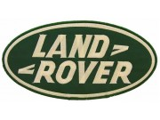 GIANT LAND ROVER AUTOMOBILE EMBROIDERED PATCH (P)
