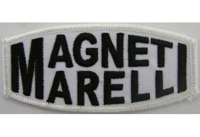 MAGNETI RACING SPORT EMBROIDERED PATCH #04