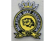 MALAYSIAN GOLF ASSOC EMBROIDERED PATCH #09