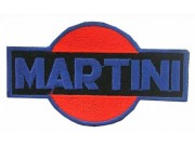 MARTINI RACING SPORT IRON ON EMBROIDERED PATCH #02