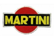 MARTINI RACING SPORT IRON ON EMBROIDERED PATCH #03