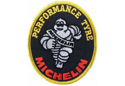 MICHELIN TIRE TYRE RACING SPORT EMBROIDERED PATCH #02