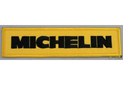 MICHELIN TIRE TYRE RACING SPORT EMBROIDERED PATCH #20