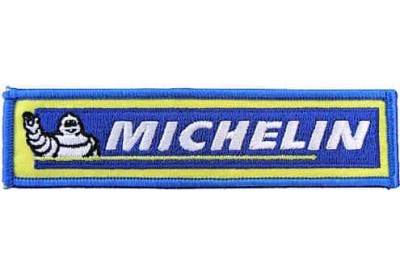 MICHELIN TIRE TYRE RACING SPORT EMBROIDERED PATCH #23