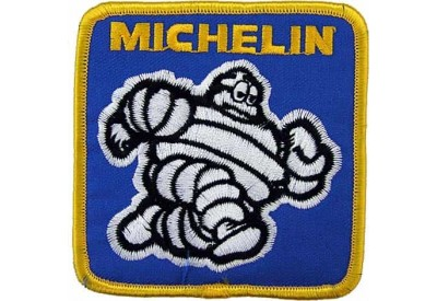 MICHELIN TIRE TYRE RACING SPORT EMBROIDERED PATCH #25