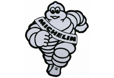 GIANT MICHELIN IRON MAN F1 TIRE RACING PATCH (P2)