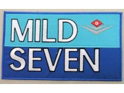 MILD SEVEN TOBACCO RACING EMBROIDERED PATCH #04