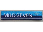 MILD SEVEN TOBACCO RACING EMBROIDERED PATCH #06