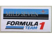 GIANT MILD SEVEN F1 TEAM RACING PATCH (P02)