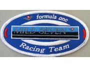 MILD SEVEN TOBACCO RACING EMBROIDERED PATCH #03