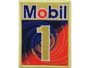 Mobil Oil & Gas F1 Racing Embroidered Patch #05