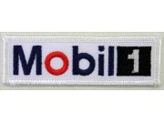 MOBIL RACING OIL & GAS EMBROIDERED PATCH #08