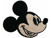 MICKEY MOUSE CARTOON COMIC EMBROIDERED PATCH #01
