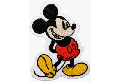 MICKEY MOUSE CARTOON COMIC EMBROIDERED PATCH #02