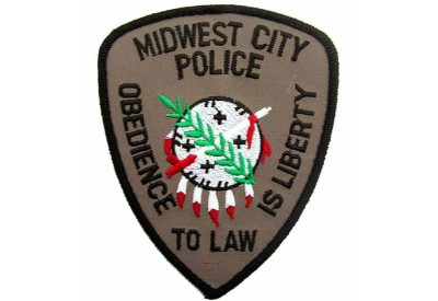 MIDWEST CITY POLICE PATCH
