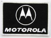 MOTOROLA IRON ON EMBROIDERED PATCH #04