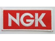 NGK Spark Plugs Racing Embroidered Patch #01