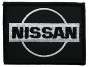 NISSAN AUTOMOBILE EMBROIDERED PATCH #01