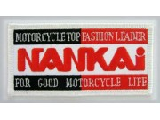 NANKAI BIKER MOTORCYCLE EMBROIDERED PATCH