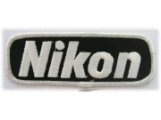 NIKON CAMERA LOGO EMBROIDERED PATCH #03