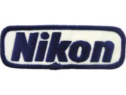 NIKON CAMERA LOGO EMBROIDERED PATCH #04