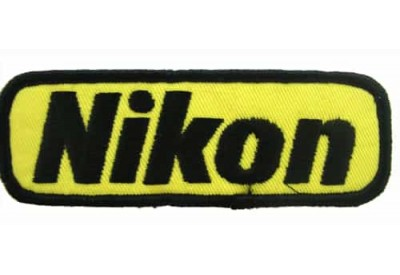 NIKON CAMERA LOGO EMBROIDERED PATCH #05