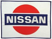 GIANT NISSAN TEAM RACING EMBROIDERED PATCH (P1)