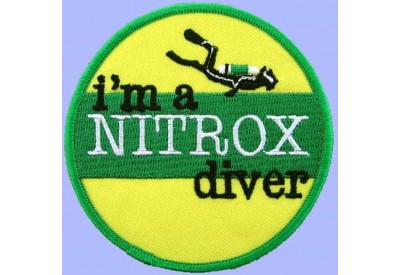 SCUBA DIVE - I'M A NITROX DIVER EMBROIDERED PATCH